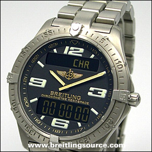 Breitling For Bentley >> Professional - Breitling Aerospace (01-04) - e75362, f75362, k75362