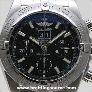 9b8a8232027 Breitling Models. Chronomat Series - Blackbird (2007)