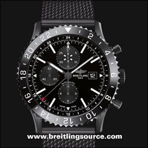 Breitling Bentley Watch >> Chronoliner - Breitling Chronoliner Blacksteel - m24310