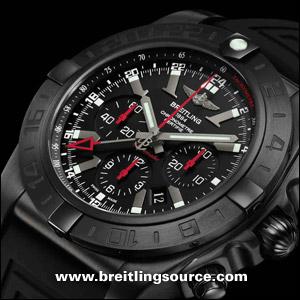 Breitling For Bentley >> Limited - Breitling Chronomat GMT 44 Blacksteel - mb0413