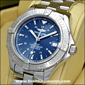 Breitling Bentley Watches >> Colt - Breitling Colt Automatic (2002) - a17350