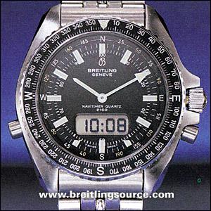 Breitling For Bentley >> Navitimer - Breitling Pluton (Navitimer 2100) - 80190