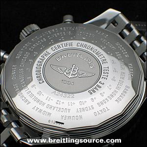 Navitimer Breitling Navitimer World A24322 K24322